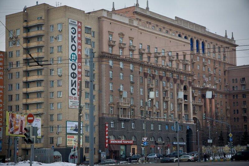 Комплекс жилых домов постройки 1936–46 гг.