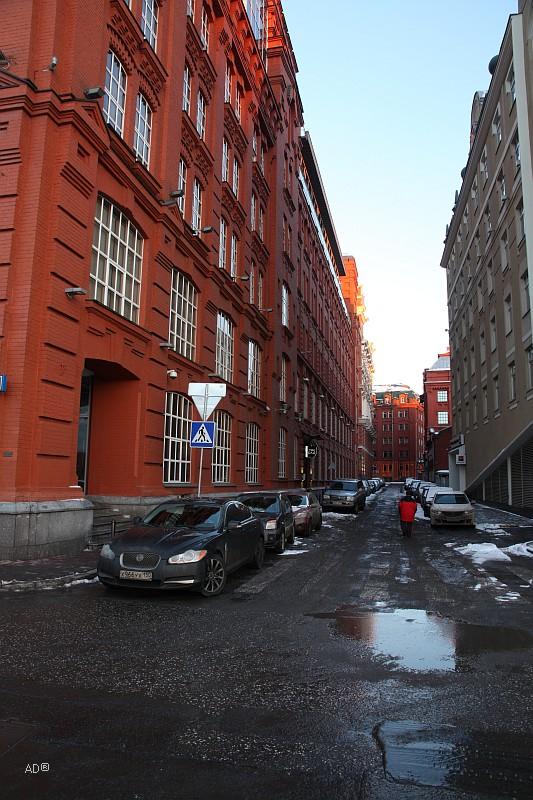 3-й Голутвинский переулок
