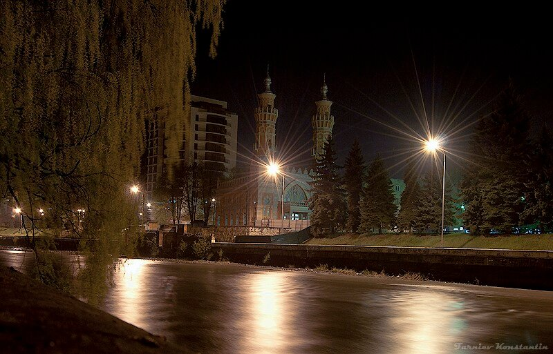 Картинки ночной владикавказ