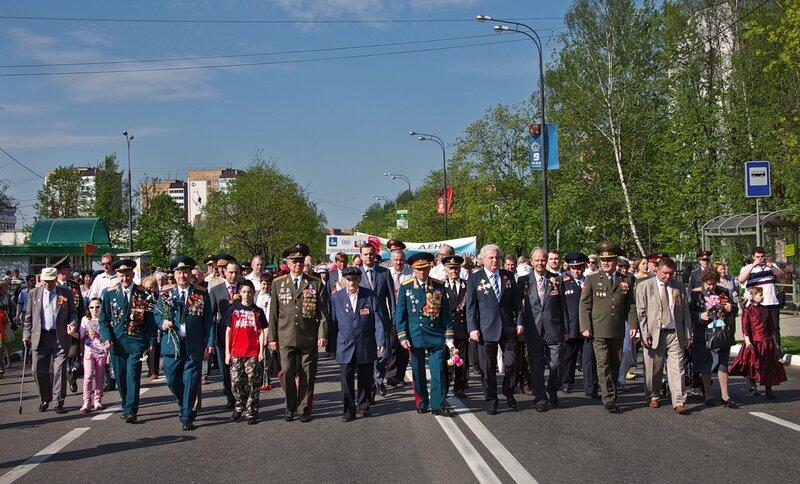 День Победы 2010 / Одинцово, 9 мая 2010