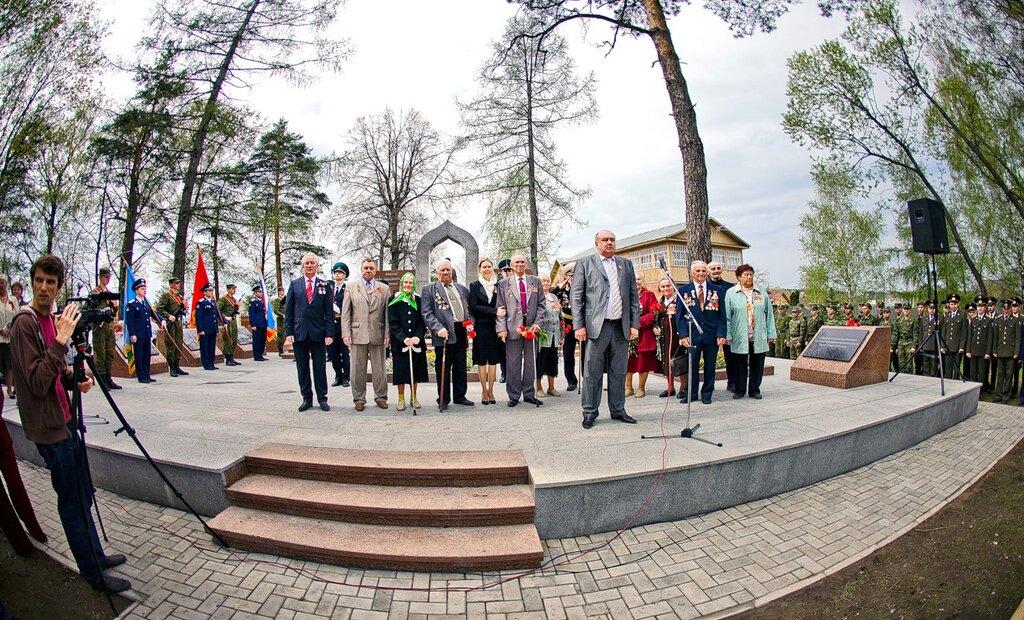 Накануне Дня Победы 8 мая 2011 в Сквере Памяти села Саввинская слобода Одинцовского района состоялось торжественное открытие мемориала в память о героях Великой Отечественной войны
