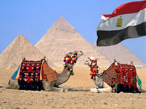 Египет это пирамиды