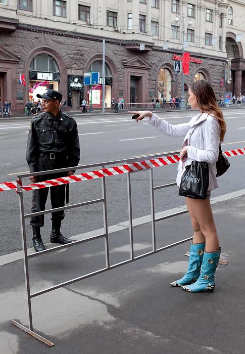 Репетиция Парада Победы, Москва, 6 мая 2011 года.