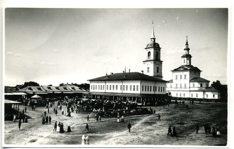 5.Здание городской управы, Сретенская церковь (1756-1772 гг.)