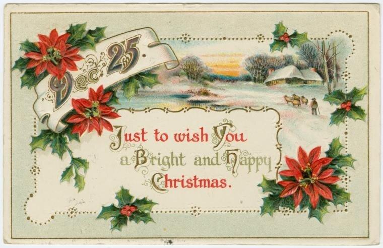 Английские поздравления в открытках