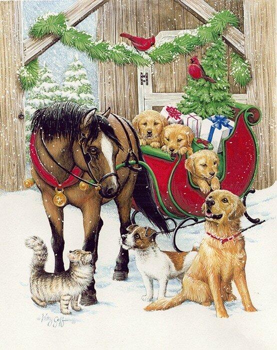 """Р """"СЂСѓР РЅРѕ...  Понравилось. вернисаж. kathy goff. дружно встретим рождество!  Пятница, 24 Декабря 2010 г. 04:35."""