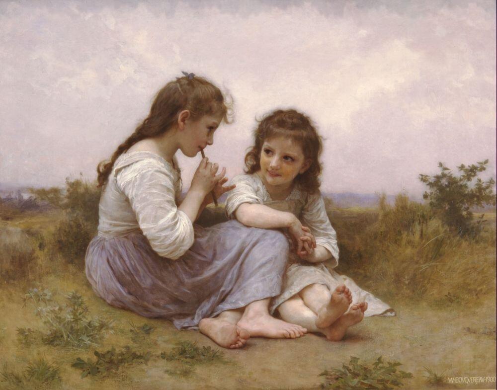 Бугеро. Идиллия детства.1900 г. (2503 пикс.)