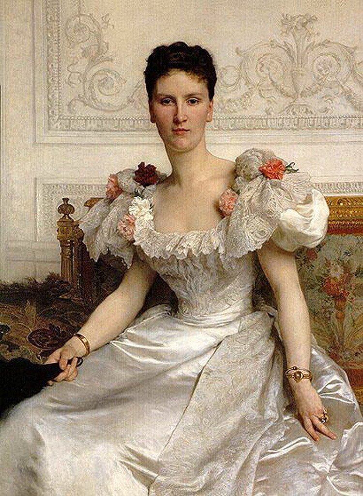 Бугеро, Графиня Камбасер (1895) Portrait of Madame la Contesse de Cambaceres (1895)