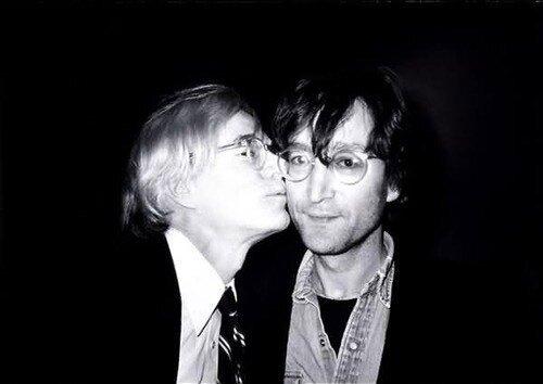 Andy Warhol,John Lennon