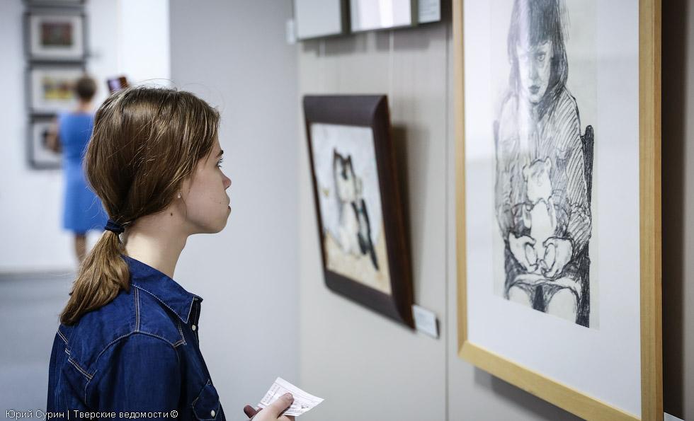 Выставка, Тверь, Все в сад, картинная галерея