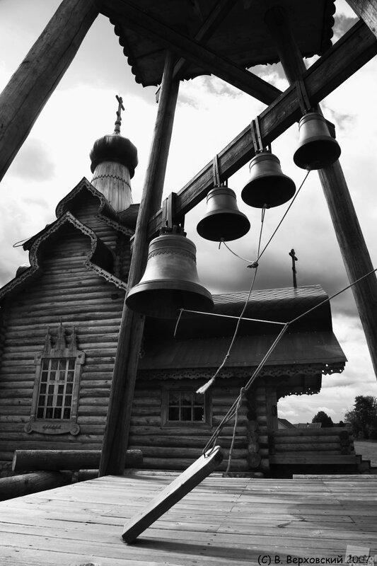 Церковь в деревне Березовский рядок. Автор Владимир Верховский.jpg