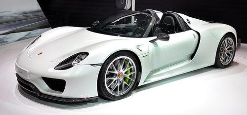 Porsche обнаружила брак в автомобилях 918 Spyder
