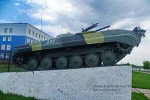 БМП-1, БТВТ в 242 УЦ ВДВ, Омск