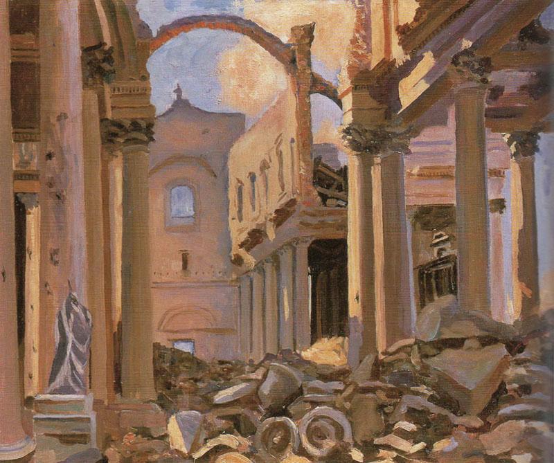 + 1920 Руины арраского собора.jpg