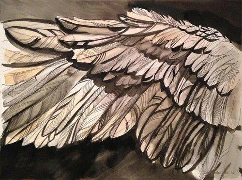 крылья картина