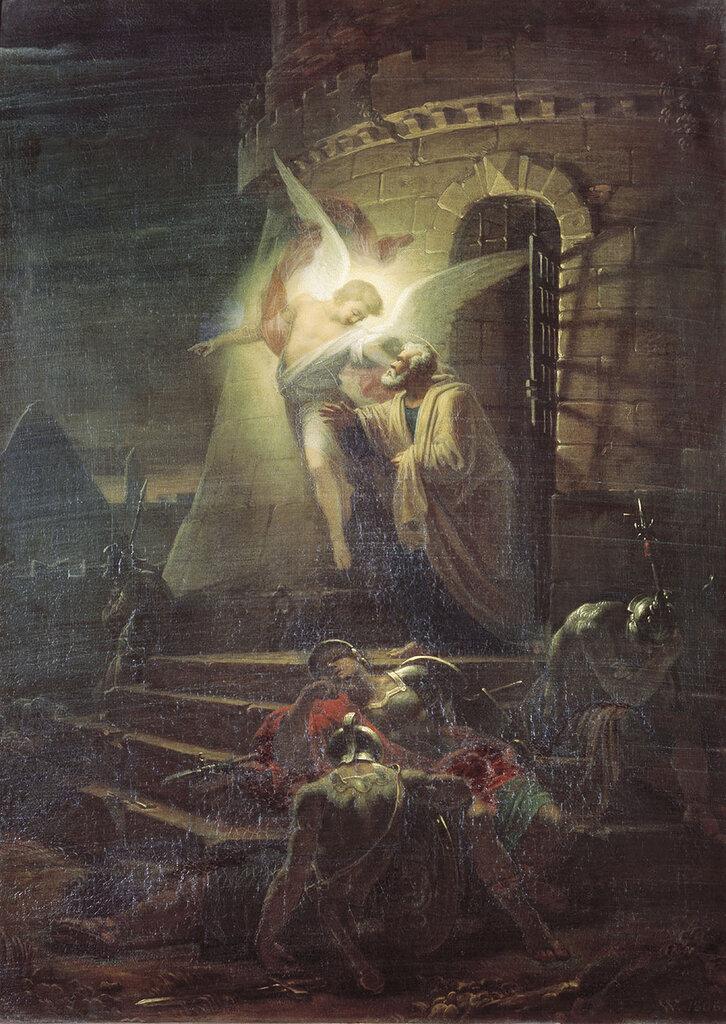 1089.Vitberg.Aleksandr.Lavrent'evich.Izvedenie.apostola.Petra.iz.temnicy.1806.jpg