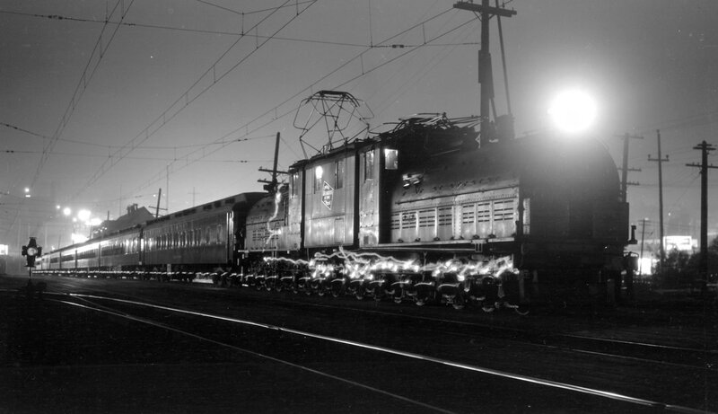 Chicago, Milwaukee, St. Paul & Pacific train, engine number 10254, engine type Milwaukee Road class EP-2 GE 1-B+D+D+B-1, Tacoma, Wash., October 1, 1931
