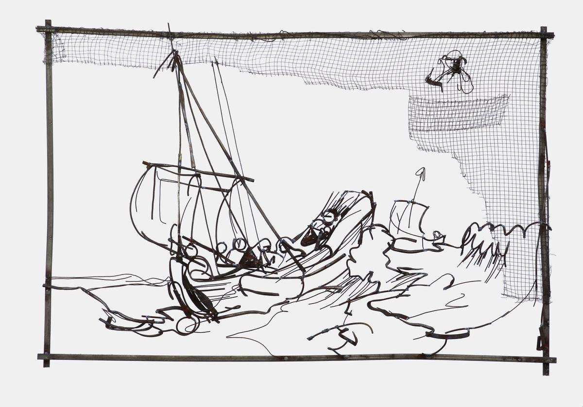 Дмитрий Гутов, «Рембрандт. Другой ракурс». Специальная программа 6-й Московской биеннале, ГМИИ им. А