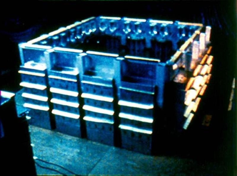 3. Эксперимент стартовал с момента помещения внутрь бака четырех пар здоровых мышей, которым потребо