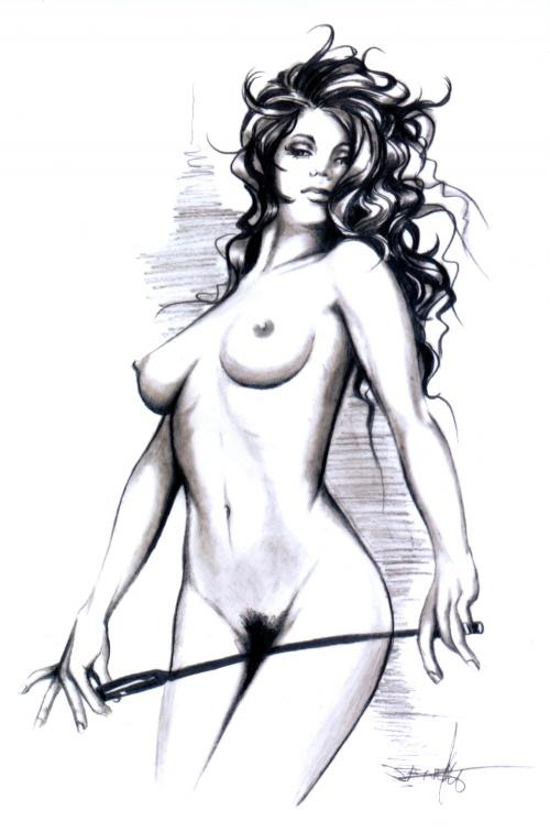 Как Рисовать Девушек Голых Без Одежды
