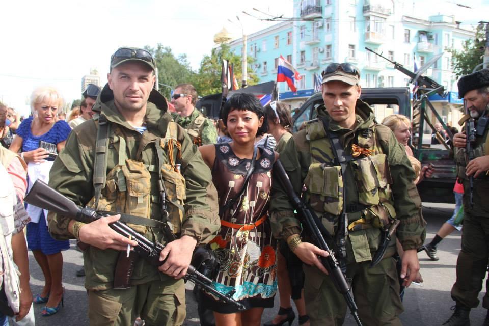 Луганск 2014 - день города