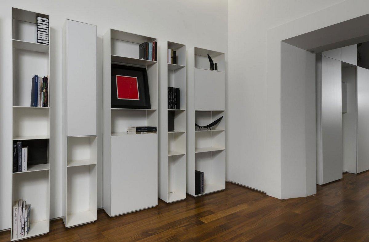Labics, портфолио Labics, Column House, квартиры в Риме фото, апартаменты в Риме, интерьер квартиры минимализм, дизайн интерьера для молодых