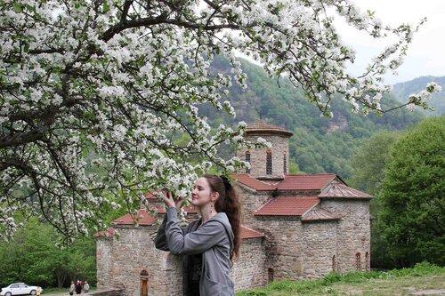 весна в Архызе