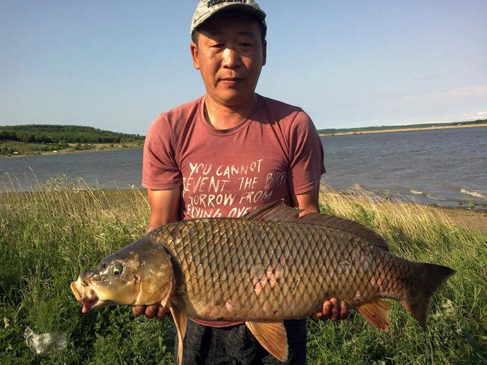 Рыбалка в Приморье-ловля карпа
