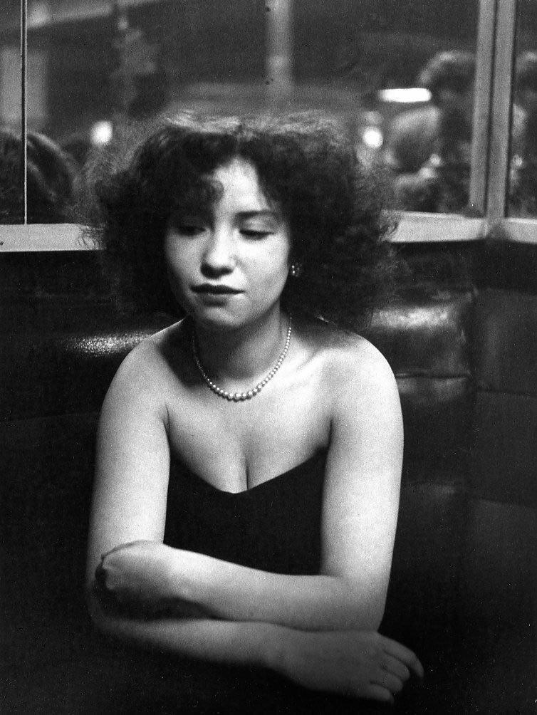 1951. Мадмуазель Анита, танцовщица из кабаре «Красный мяч»