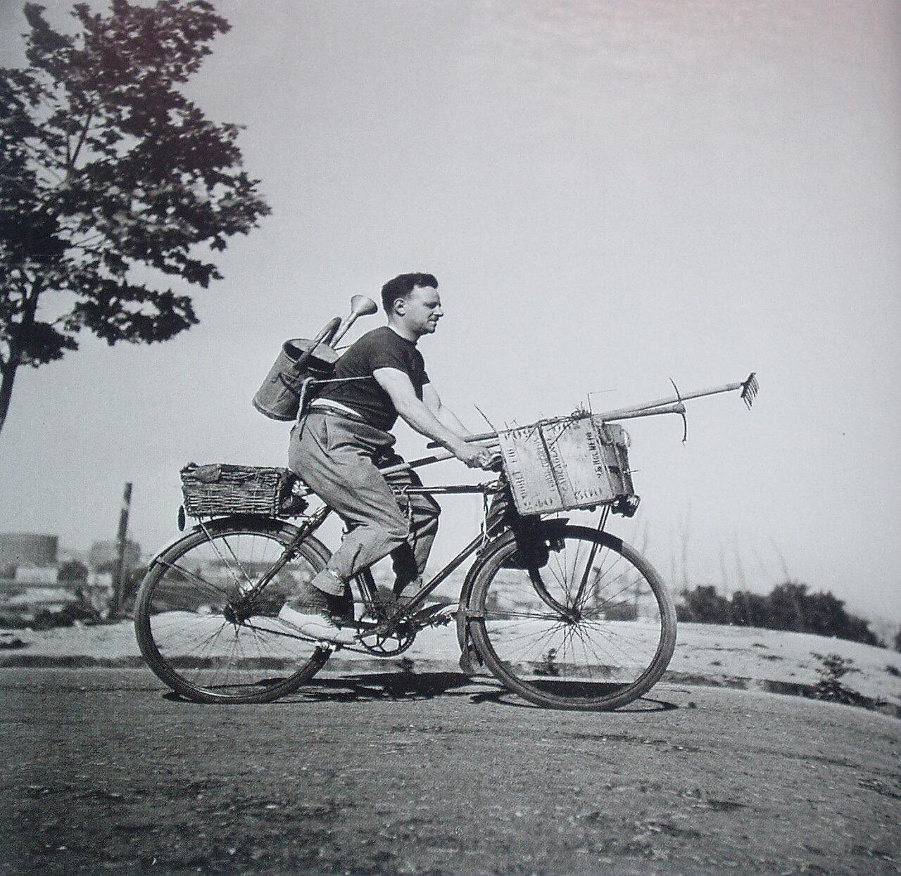 1943. Воскресный день садовника