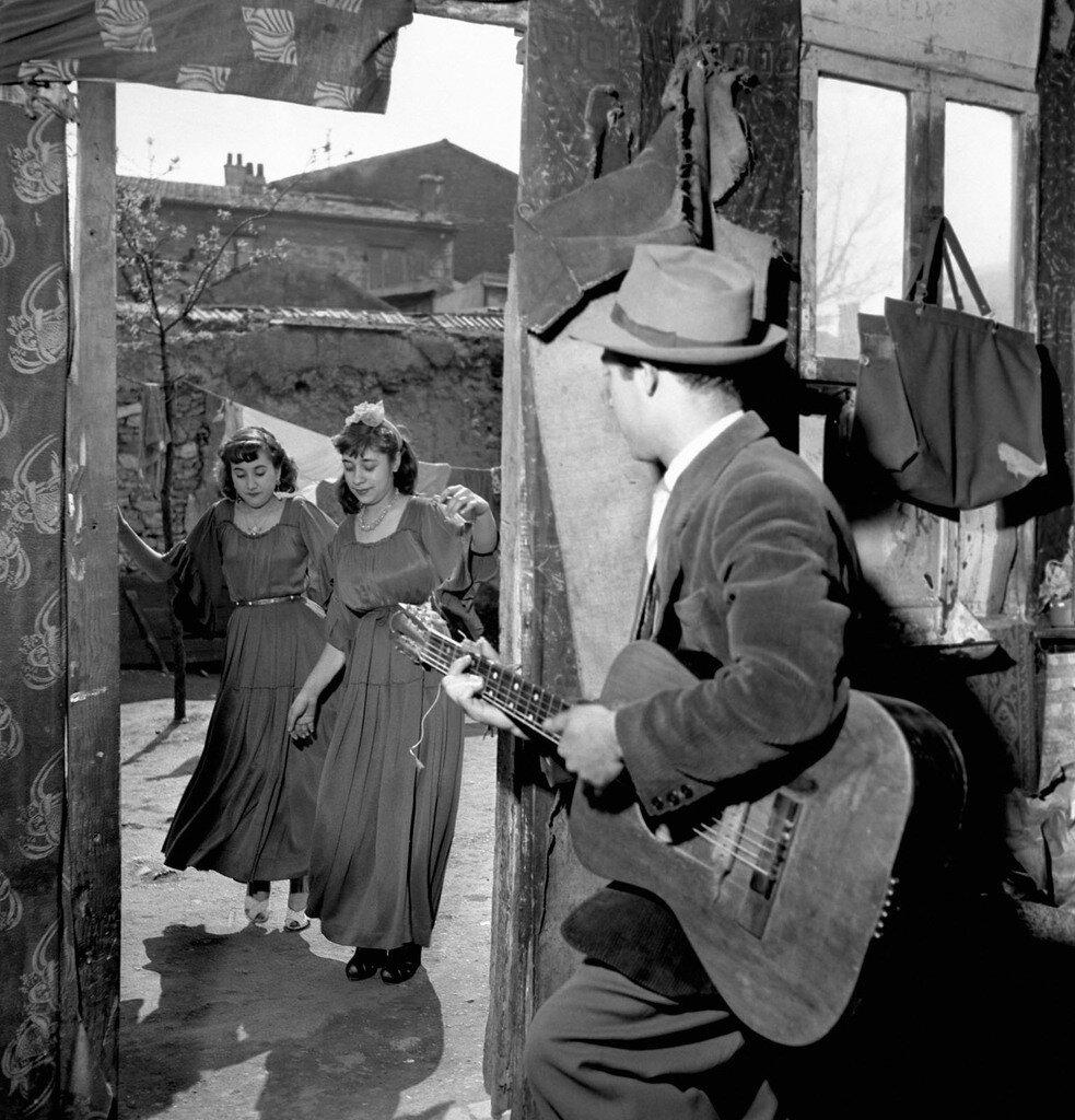 1950. Цыганки Монтре