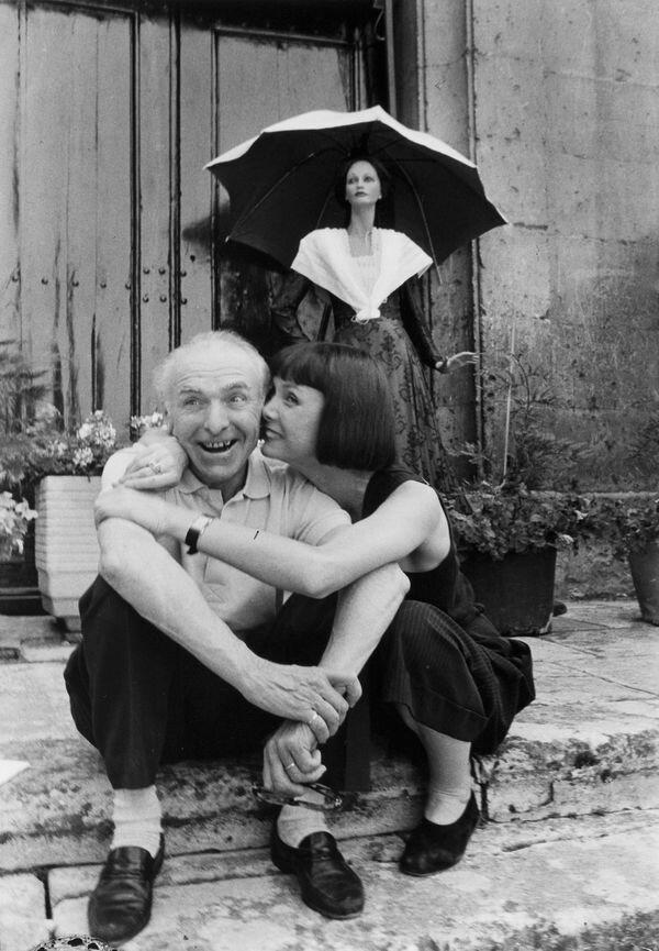 1987. Робер Дуано и Сабина Азема