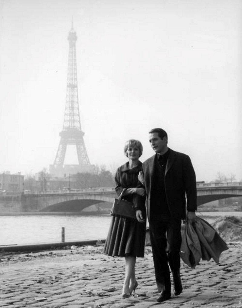 1961. Пол Ньюман и Джоанн Вудворд