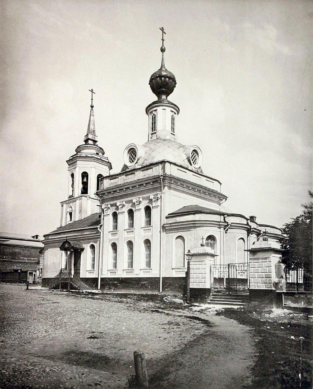 396. Церковь Живоначальной Троицы в Сыромятниках