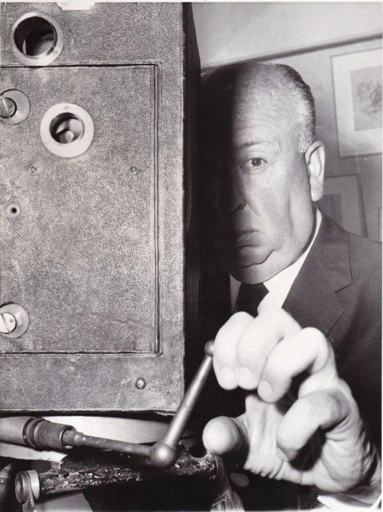 1960. Альфред Хичкок во Французской синематеке