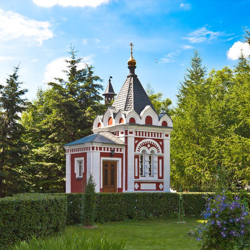 Новоспасский монастырь - Часовня в память 300-летия Дома Романовых