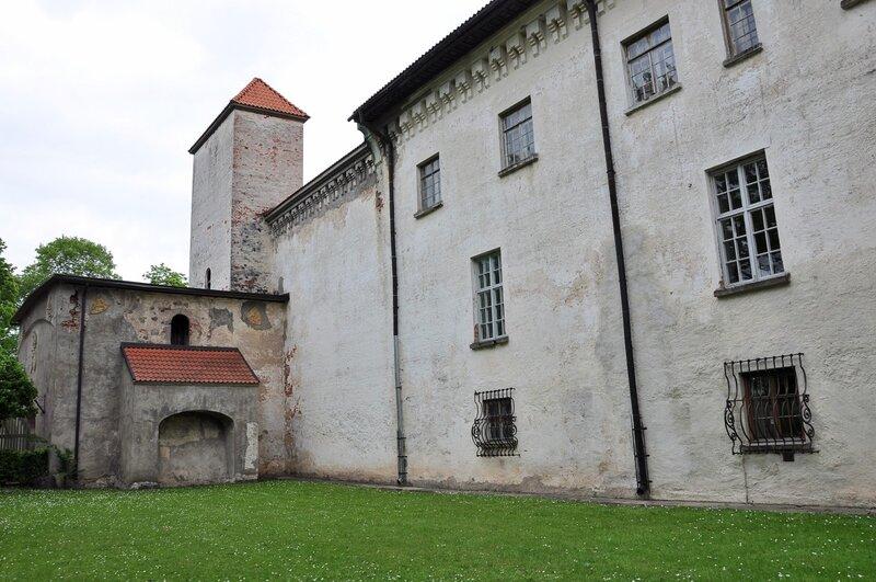 Dundaga. Дундагский замок.