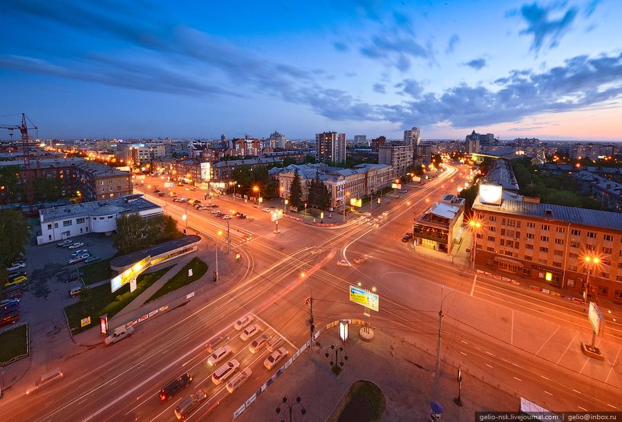 """Новосибирск. Район станции метро """"Красный проспект"""" (2011)"""