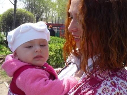 При общении с новорожденным важен зрительный контакт