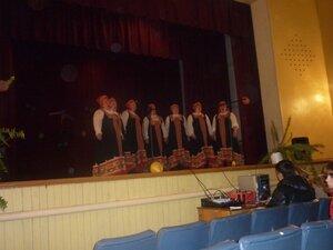Первомайский концерт в нашем клубе.