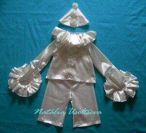 костюм Пьеро