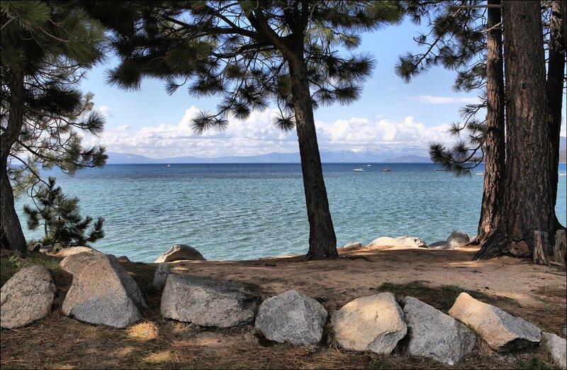 Озеро Тахо - рай на земле...