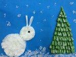 """Костылев Арсений (рук. Малых Серафима Геннадиевна) - """"Зима в лесу"""""""