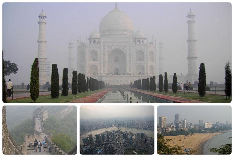 Самые загрязнённые достопримечательности мира