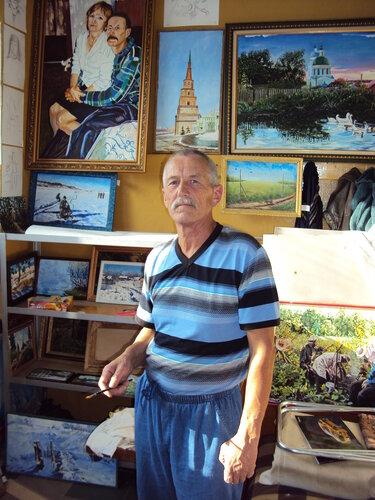 Художник Виктор Артемьев. 2014. Август