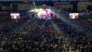 """Грандиозным концертом отметили """"День города"""" жители Оргеева"""