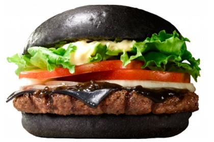 Посетителям японского Burger King начнут предлагать черные бургеры