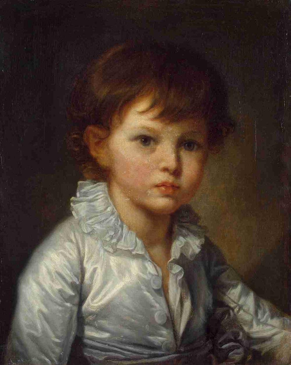 Jean Baptiste Greuze - portrait du comte Stroganov, enfant..jpg