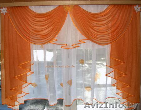 Как сшить шторы на кухню своими руками для начинающих