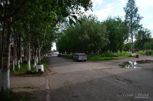 Фото города Инта №7844  Та же точка съёмки, но в противоположном направлении 21.06.2015_14:54